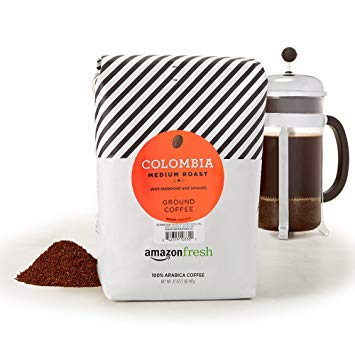Amazon Fresh Colombia Ground Coffee