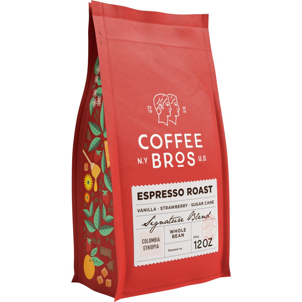 Coffee Bros Espresso Roast Whole Bean Coffee